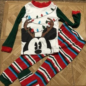 Mickey Mouse Reindeer Pajamas size 5